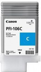 Canon IPF6300 Cyan Ink Cartridge - Genuine Canon PFI-106C Ink  - 6622B001AA