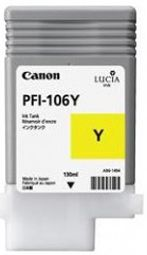 Canon IPF6300 Yellow Ink Cartridge - Genuine Canon PFI-106Y Ink  - 6624B001AA