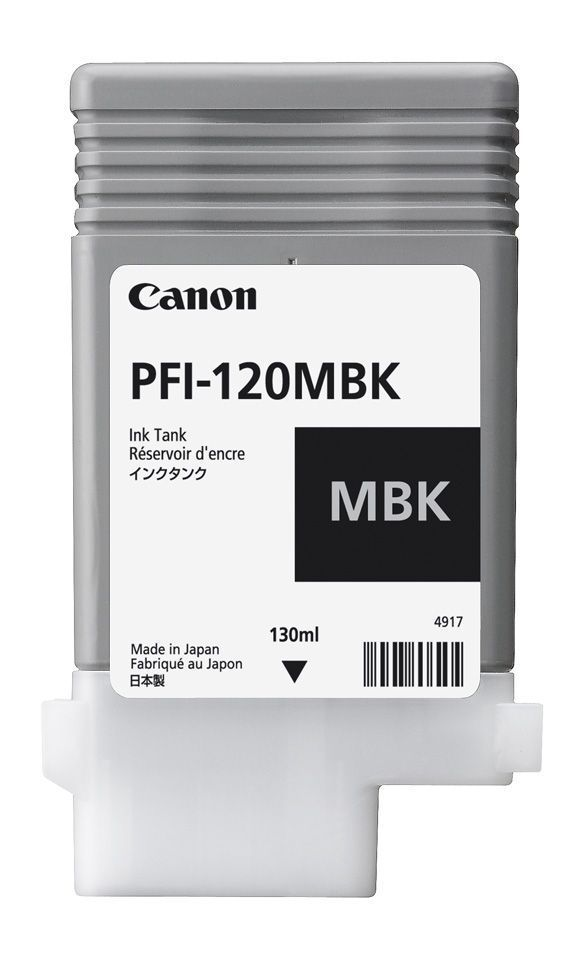 Canon tm-300 matte black Ink Cartridge / Canon PFI-120mbk (160ml) matte black Ink Cartridges