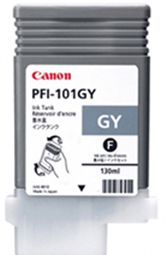 Canon iPF5000 Grey Ink Cartridge - Genuine Canon PFI-101GY Ink  - 0892B001AA