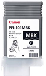 Canon iPF5000 Matte Black Ink Cartridge - Genuine Canon PFI-101MBK Ink  - 0882B001AA