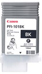 Canon iPF5000 Photo Black Ink Cartridge - Genuine Canon PFI-101BK Ink  - 0883B001AA
