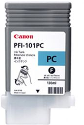 Canon iPF5000 Photo Cyan Ink - Canon PFI-101PC Ink  - 0887B001AA