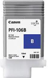 Canon iPF6300 Blue Ink Cartridge - Genuine Canon PFI-106B Blue ink  - 6629B001AA