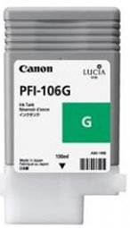 Canon iPF6300 Green Ink Cartridge - Genuine Canon PFI-106G Green Ink  - 6628B001AA