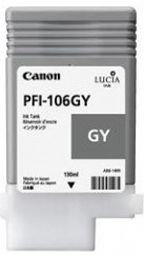 Canon iPF6300 Grey Ink Cartridge - Genuine Canon PFI-106GY Grey Ink  - 6630B001AA