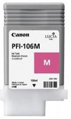 Canon iPF6300 Magenta Ink Cartridge - Genuine Canon PFI-106M Magenta Ink  - 6623B001AA