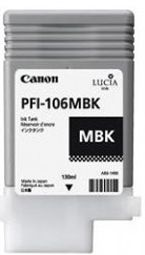 Canon iPF6300 Matte Black Ink Cartridge - Genuine Canon PFI-106MBK Ink  - 6620B001AA
