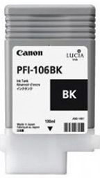 Canon iPF6300 Photo Black Ink Cartridge - Genuine Canon PFI-106BK Black Ink  - 6621B001AA