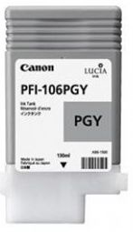 Canon iPF6300 Photo Grey Ink Cartridge - Genuine Canon PFI-106PGY Ink  - 6631B001AA