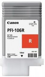 Canon iPF6350 Red Ink Cartridge - Genuine Canon PFI-106R Red Ink  - 6627B001A