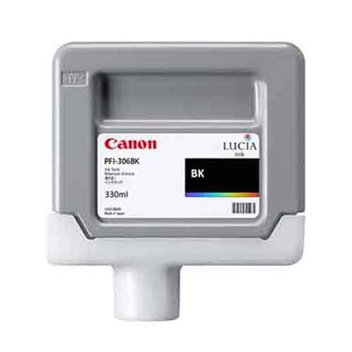 Canon iPF8400SE Photo Black Ink Cartridge - Genuine Canon PFI-306BK