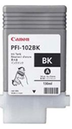 Canon iPF650 Black Ink Cartridge - Genuine Canon PFI-102BK Ink Cartridge - Genuine 0895B001AA