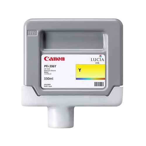 Canon iPF8400SE Yellow Ink Cartridge - Genuine Canon PFI-306Y